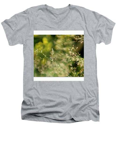 #plasticfantastic #plasticlens #bokeh Men's V-Neck T-Shirt by Mandy Tabatt