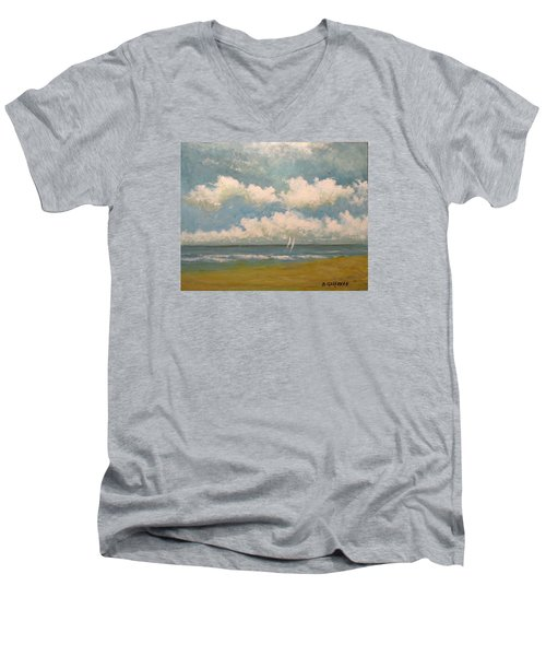 Playa Del Carmen Men's V-Neck T-Shirt