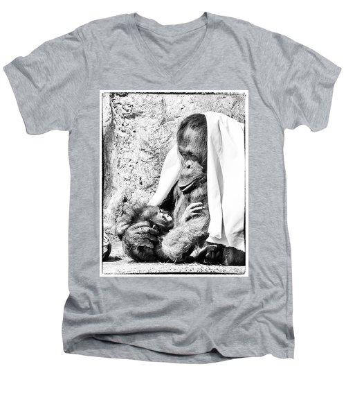 Playtime Men's V-Neck T-Shirt