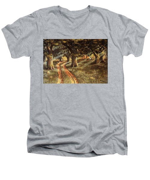 Pleasant Escape Men's V-Neck T-Shirt