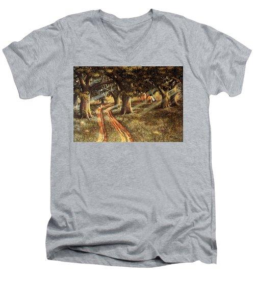 Pleasant Escape Men's V-Neck T-Shirt