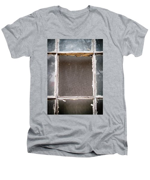 Please Let Me Out... Men's V-Neck T-Shirt by Charles Hite