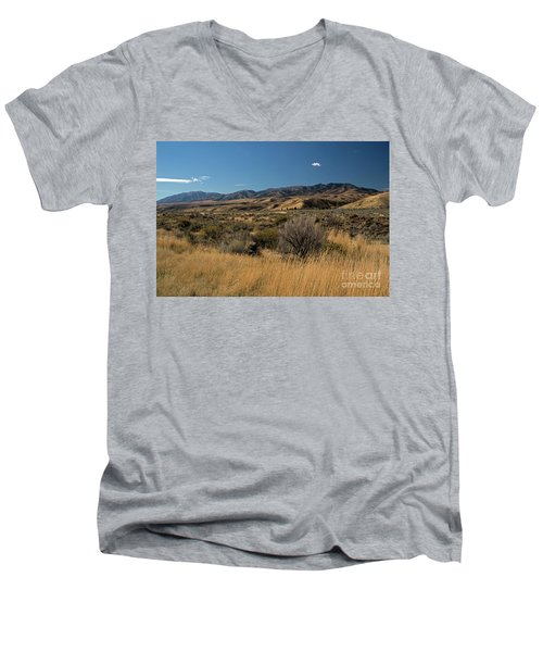 Pocatello Area Of South Idaho Men's V-Neck T-Shirt by Cindy Murphy - NightVisions