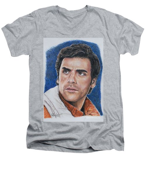 Poe Dameron Men's V-Neck T-Shirt