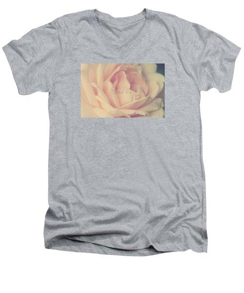 Poesie D' Amour Men's V-Neck T-Shirt by The Art Of Marilyn Ridoutt-Greene