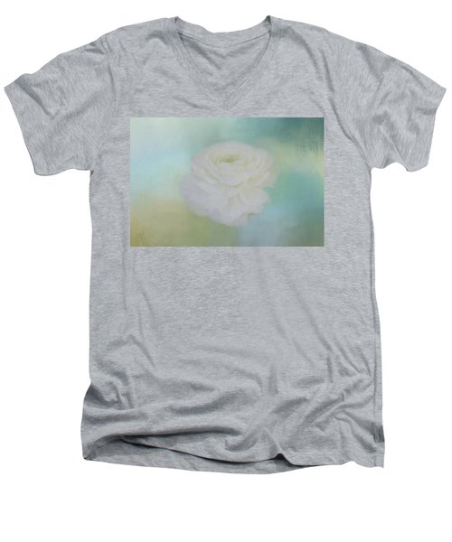 Men's V-Neck T-Shirt featuring the photograph Poetry Dreams by Kim Hojnacki