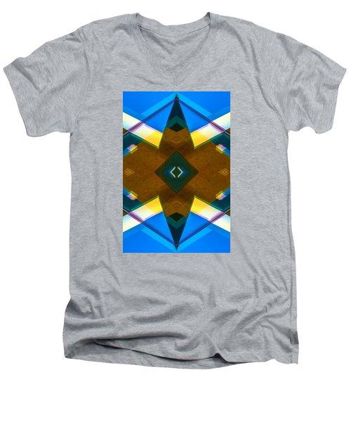 Poetry Foundation Library N86 V2 Men's V-Neck T-Shirt