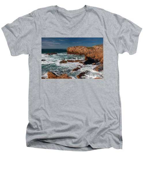 Point Lobos 1 Men's V-Neck T-Shirt