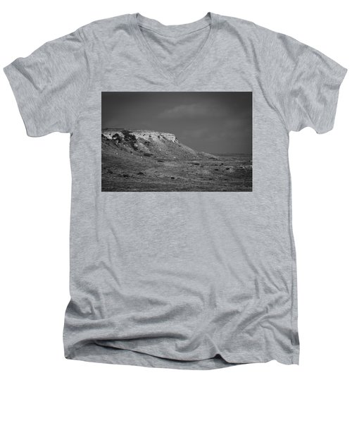 Point Of Rocks Men's V-Neck T-Shirt
