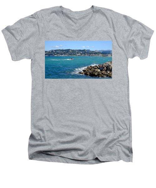 La Pointe Rouge Marseille Men's V-Neck T-Shirt