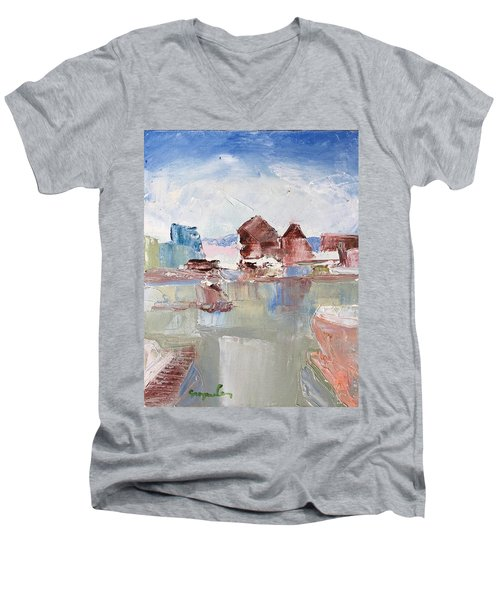 Point San Pablo 2 Men's V-Neck T-Shirt