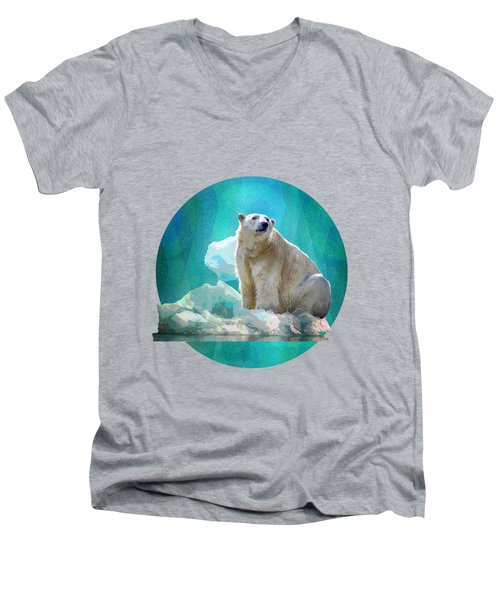 Polar Bear Men's V-Neck T-Shirt