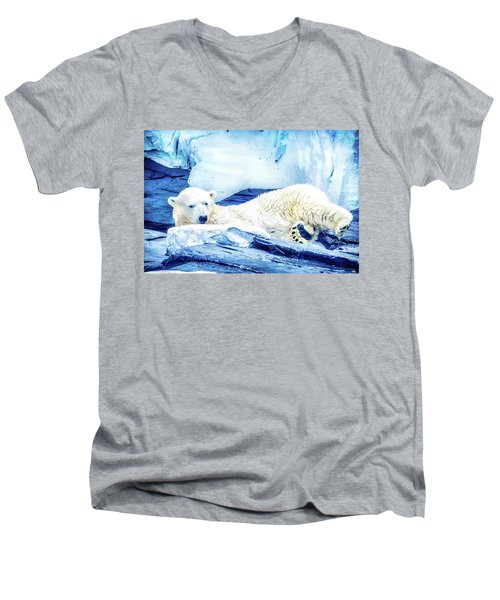 Polar Men's V-Neck T-Shirt