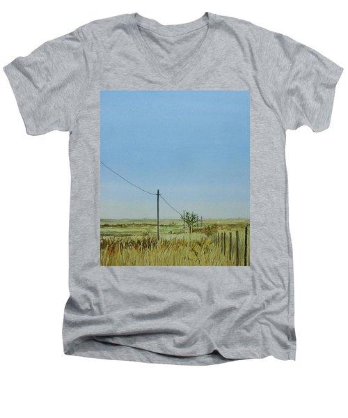Poles Apart Men's V-Neck T-Shirt
