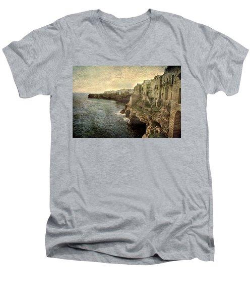 Polignano Men's V-Neck T-Shirt