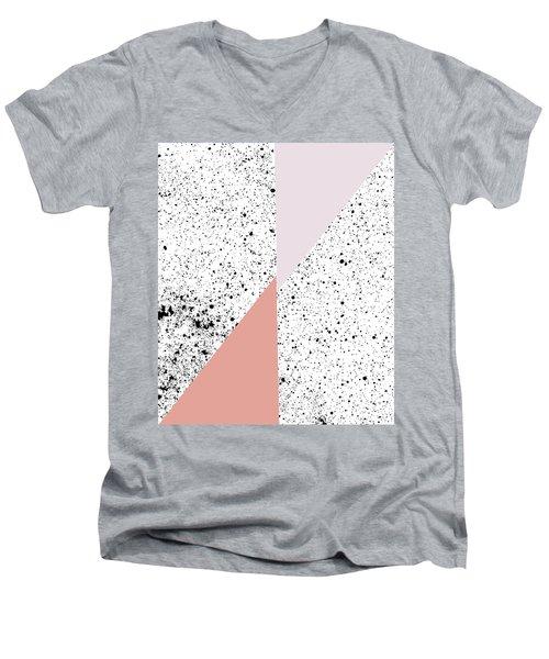 Polka Art Men's V-Neck T-Shirt