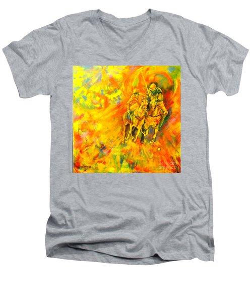 Poloplayer Men's V-Neck T-Shirt