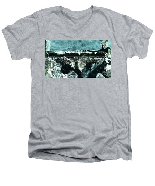 Ponemah Mill Dam Men's V-Neck T-Shirt
