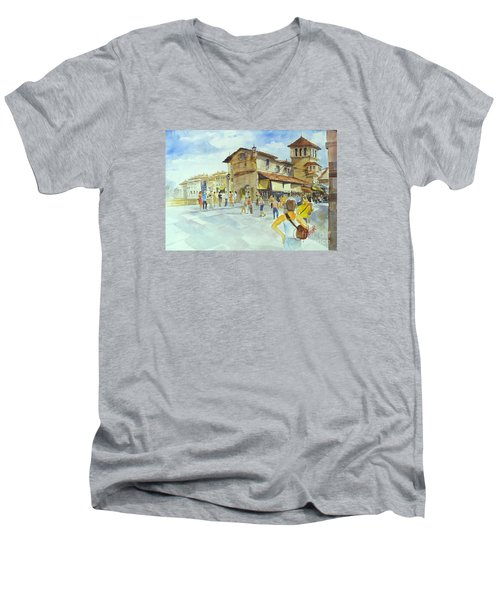 Ponti Vecchio Men's V-Neck T-Shirt