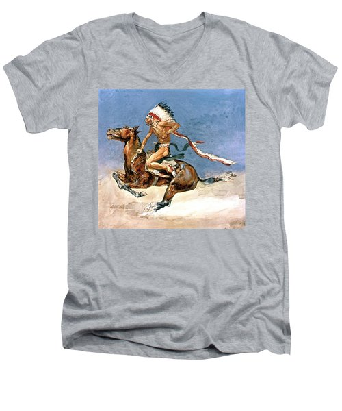 Pony War Dance Men's V-Neck T-Shirt