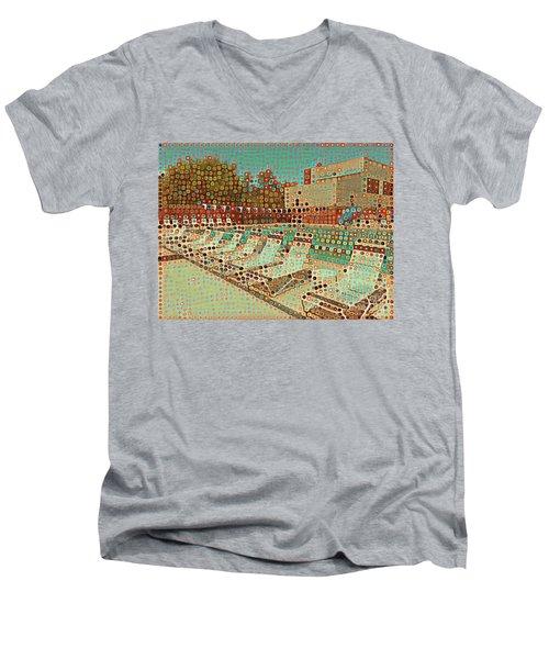 Pool #2 Men's V-Neck T-Shirt