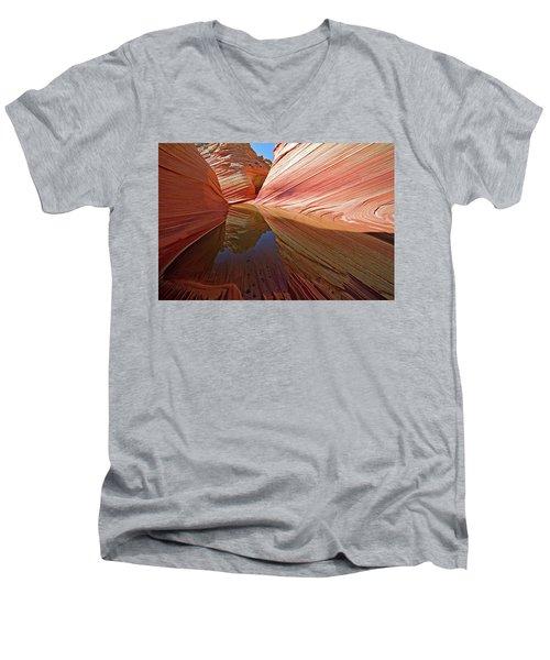 Pool At The Wave Men's V-Neck T-Shirt
