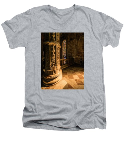 Pools Of Light Men's V-Neck T-Shirt