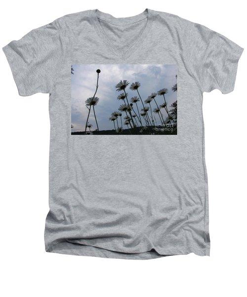 Poppin Men's V-Neck T-Shirt