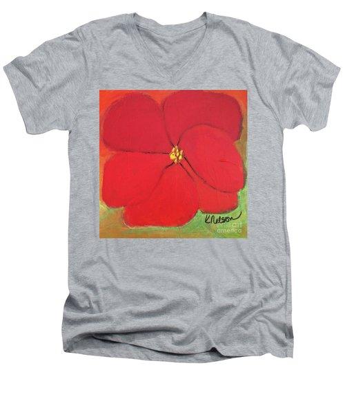 Poppy 2 Men's V-Neck T-Shirt