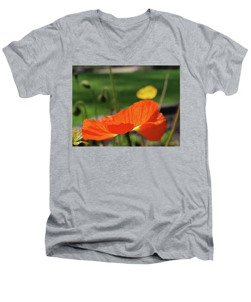 Poppy Cup Men's V-Neck T-Shirt