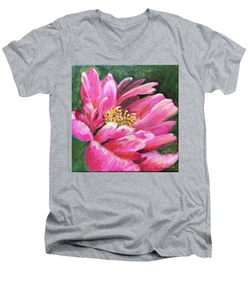 Poppy Melody Men's V-Neck T-Shirt