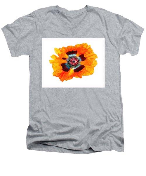 Poppy Pleasing Men's V-Neck T-Shirt