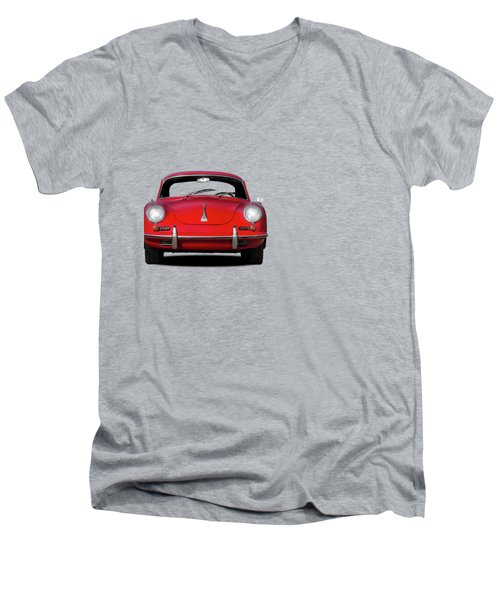 Porsche 356 Men's V-Neck T-Shirt by Mark Rogan