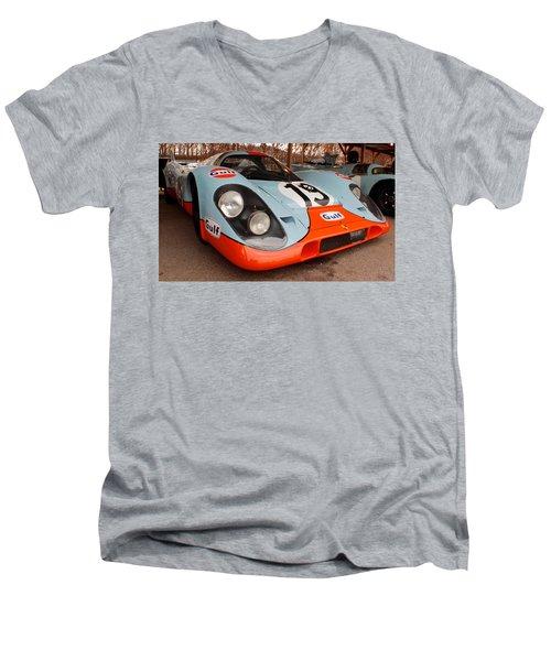 Porsche 917 Men's V-Neck T-Shirt