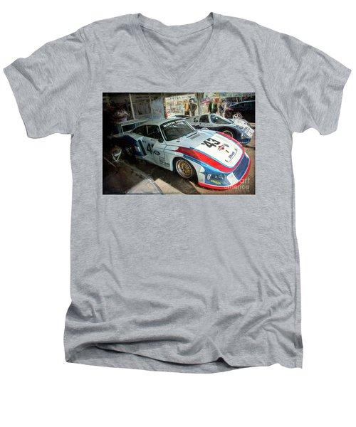 Porsche 935 Moby Dick Men's V-Neck T-Shirt
