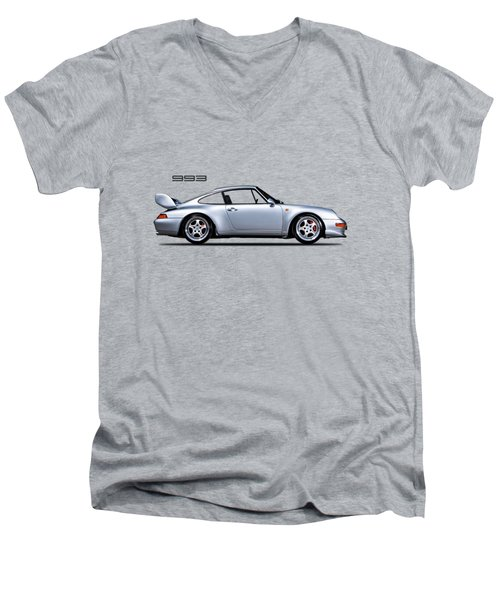 Porsche 993 Men's V-Neck T-Shirt