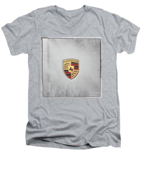 Porsche Men's V-Neck T-Shirt