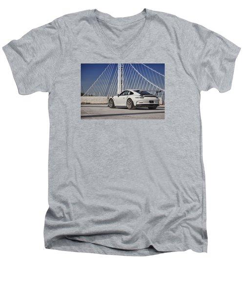 Porsche Gt3rs Men's V-Neck T-Shirt