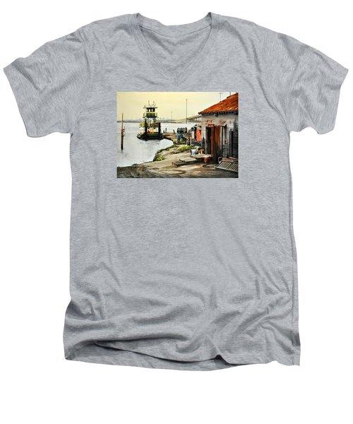 Port Aransas Ways Men's V-Neck T-Shirt