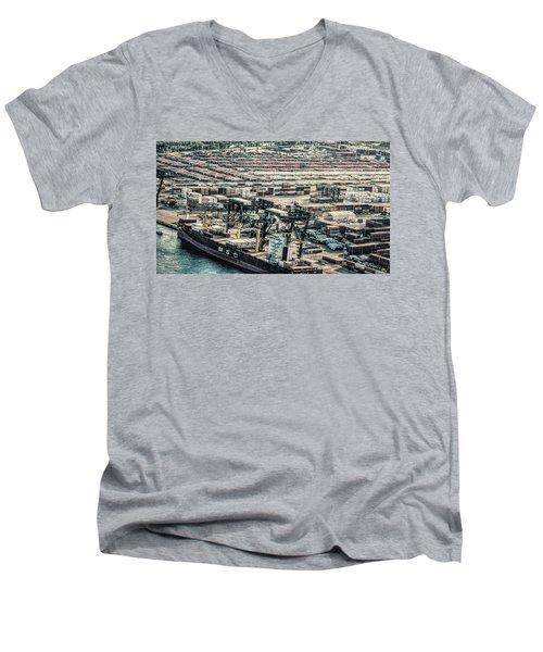 Port Everglades 2 Men's V-Neck T-Shirt