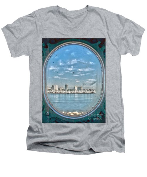 Port Hole  Men's V-Neck T-Shirt