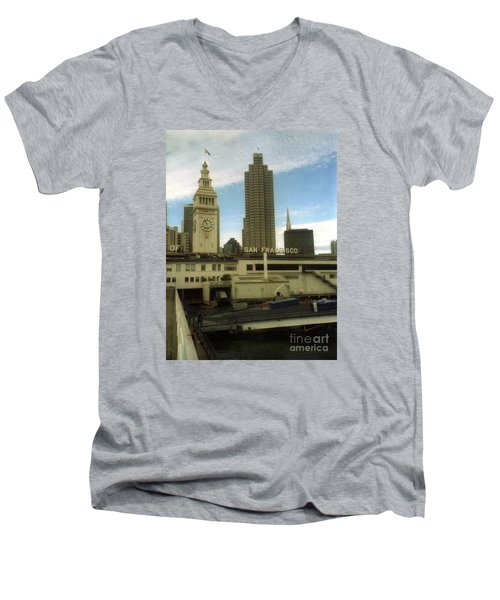 port of San Francisco  Men's V-Neck T-Shirt