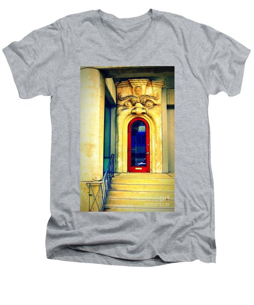 Portal 2 Men's V-Neck T-Shirt