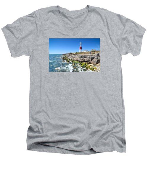 Portland 1 Men's V-Neck T-Shirt