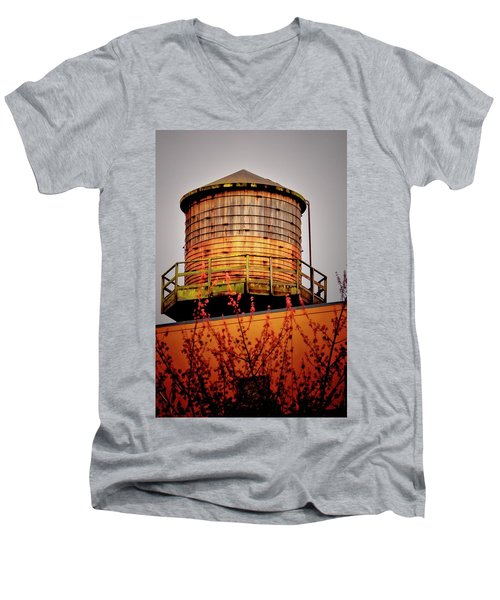 Portland Water Tower IIi Men's V-Neck T-Shirt