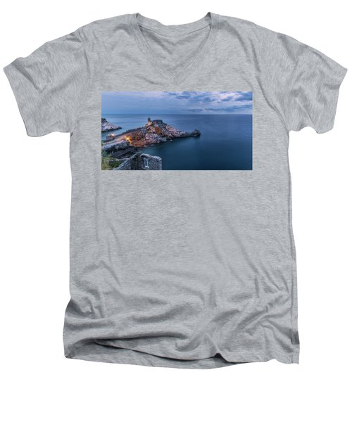 Portovenere Men's V-Neck T-Shirt