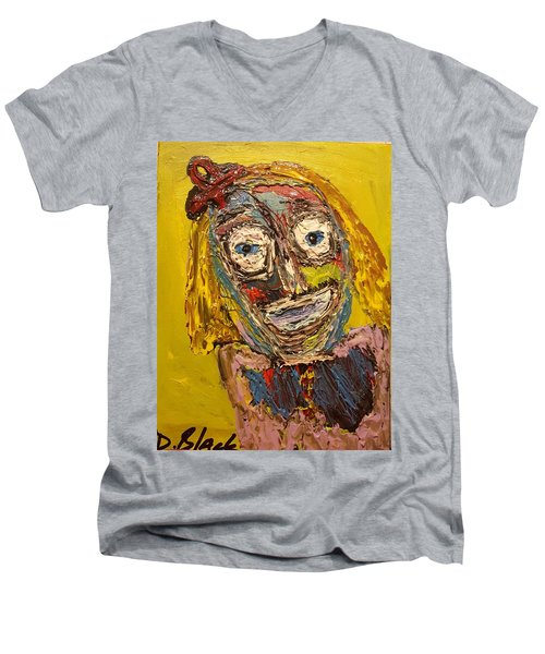 Portrait Of Finja Men's V-Neck T-Shirt