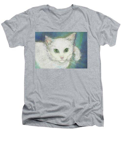 Portrait Of Misty Men's V-Neck T-Shirt