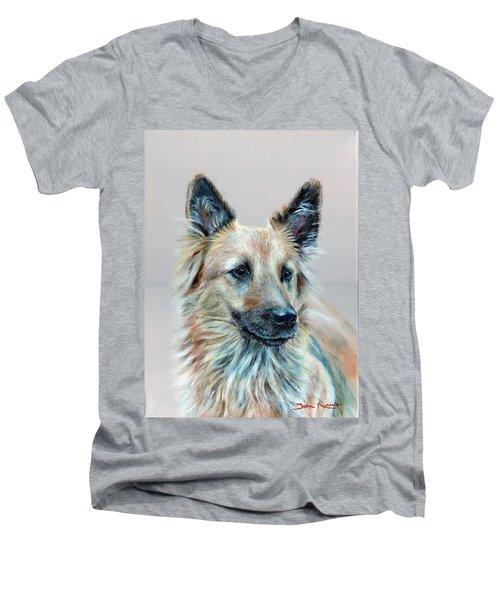 Portrait Of Sasha Men's V-Neck T-Shirt