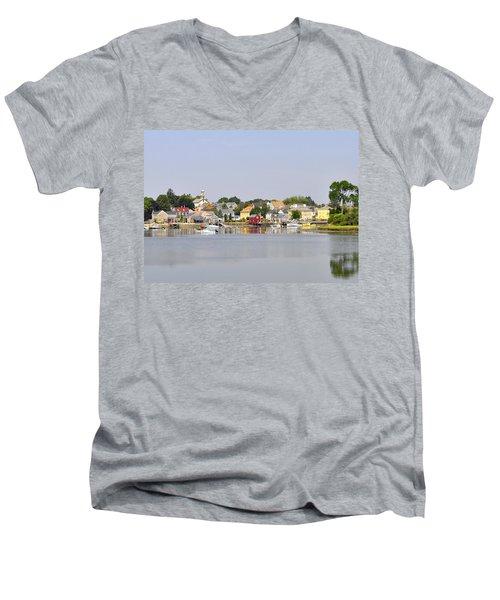 Portsmouth Nh South End Psep Men's V-Neck T-Shirt